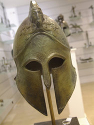 nowitz-richard-replica-of-an-ancient-greek-helmet-in-the-plaka-athens-greece.jpg
